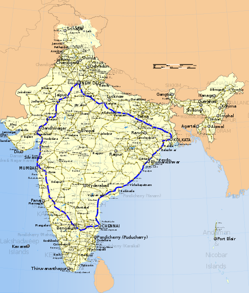 golden quadrilateral India