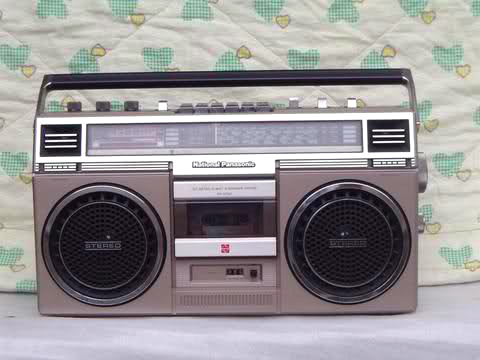 national panasonic boombox