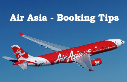 airasia flying booking tips