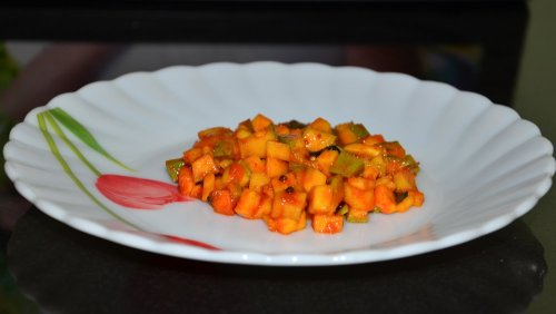 cut mango pickle recipe