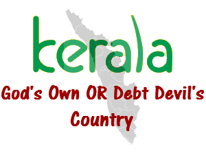 kerala under massive debt