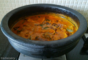 sardine curry aka mathi curry