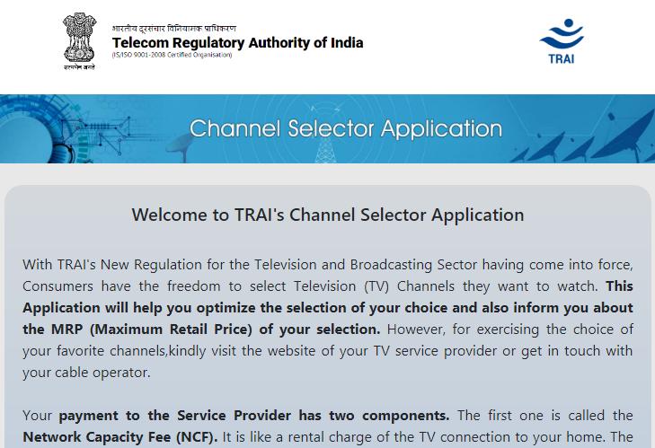 Trai Channel Selector